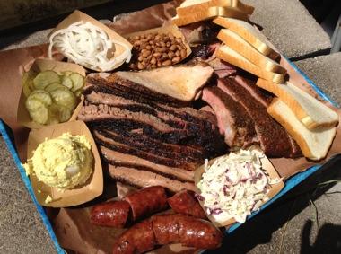 Brisket, Ribs & Sausage at Franklin BBQ
