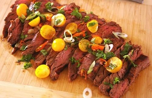 Cumin Marinated Skirt Steak