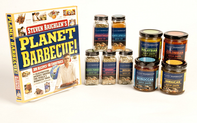 Planet Barbecue Set