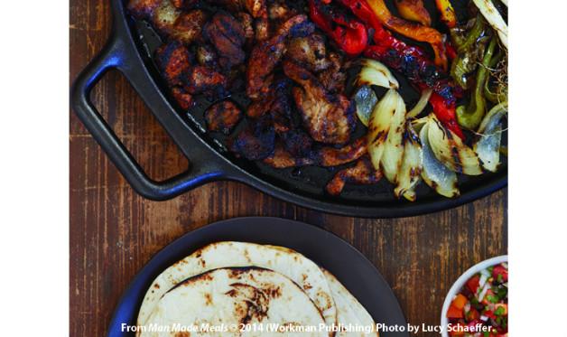 Oaxacan Pork Fajitas