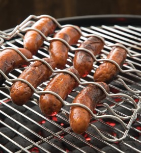 Best of Barbecue sausage grilling basket