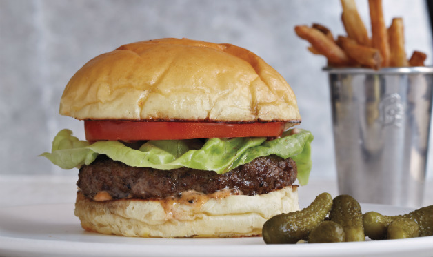 How long to cook hamburgers on the grill?
