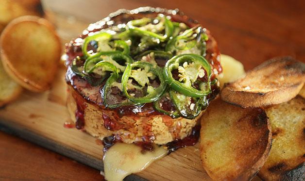 Plank-Smoked Camembert