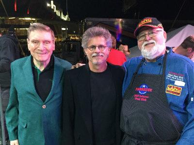Steven Raichlen, Ed Fisher, and Paul Kirk