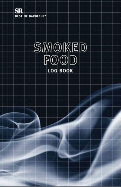 Smoked Food Log Book cover