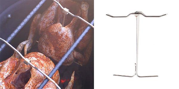 Turkey Hanger for the Pit Barrel Cooker