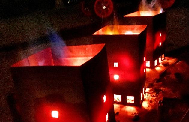 Chimney starters in the dark