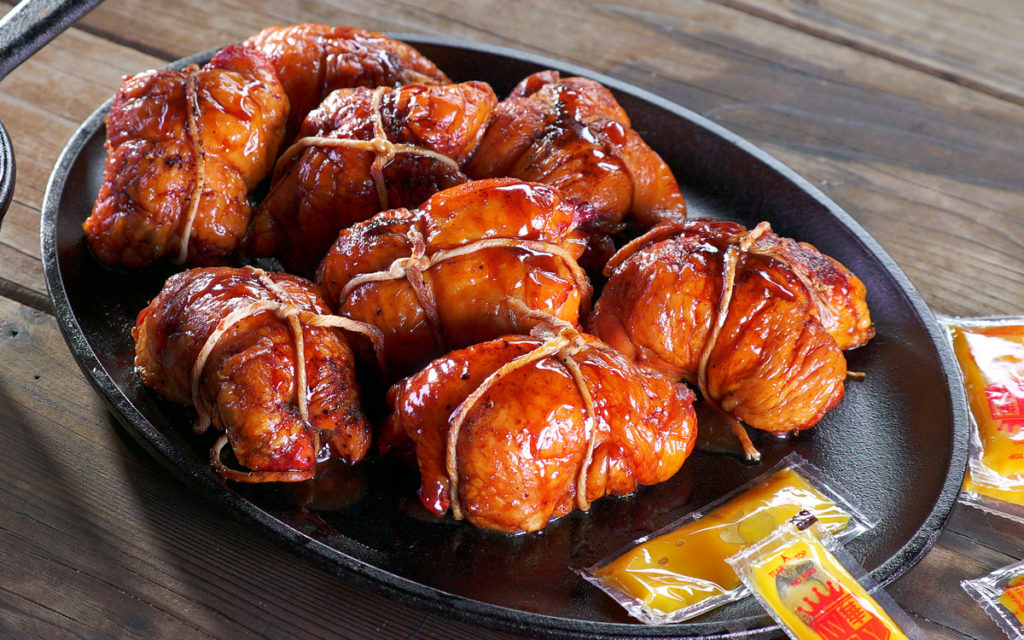 Char Siu Chicken Thighs with Beijing Barbecue Sauce