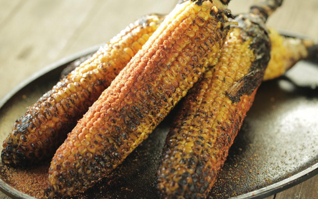 Ember-Roasted Corn