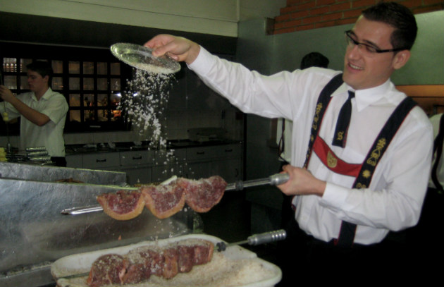 Picanha with salt