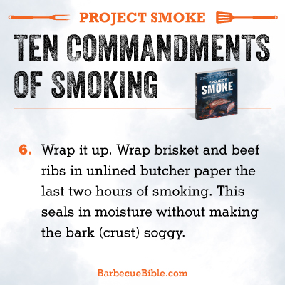 Commandments of Smoking #6