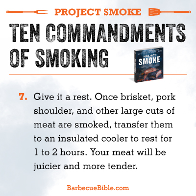 Commandments of Smoking #7