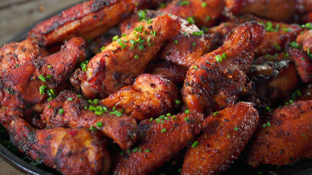 Spicy Nashville Hot Wings Recipe Barbecuebible Com