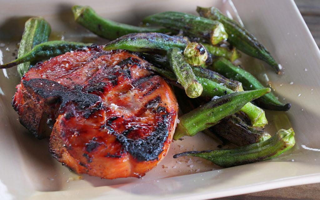Cider-Brined Pork Chops