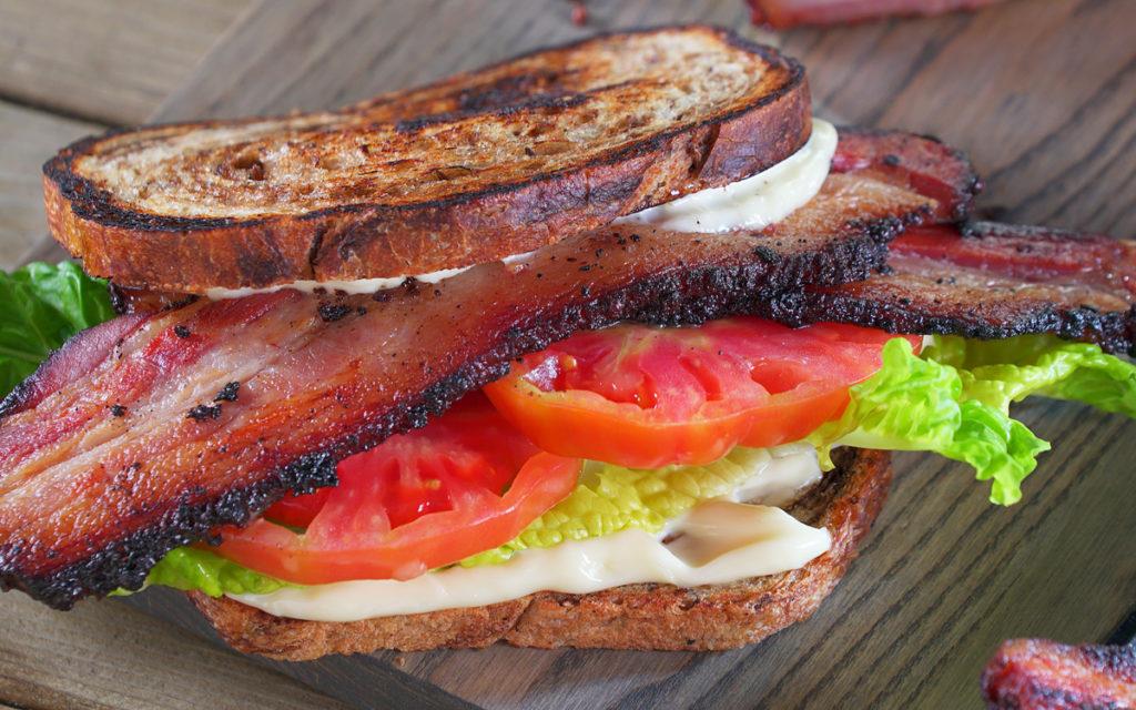 Pastrami Bacon BLT