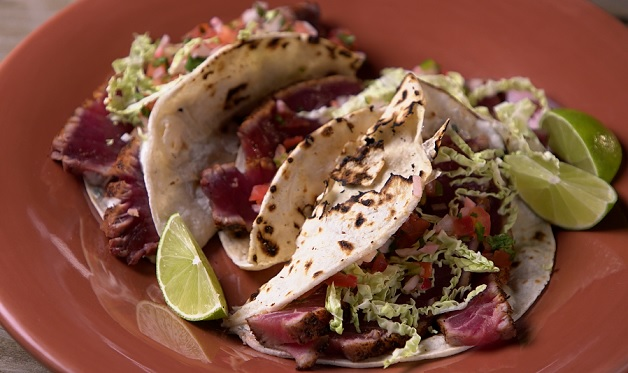 Grilled Tuna Tacos