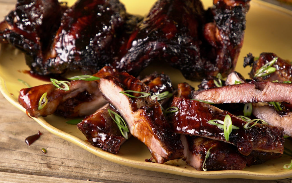 Huli Huli Spare Ribs Recipe From Steven Raichlen Barbecuebible Com