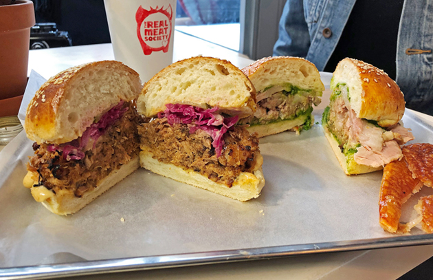 Real Meat Society Pulled Pork and Porchetta