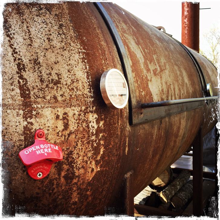 Farmhouse BBQ Smoker