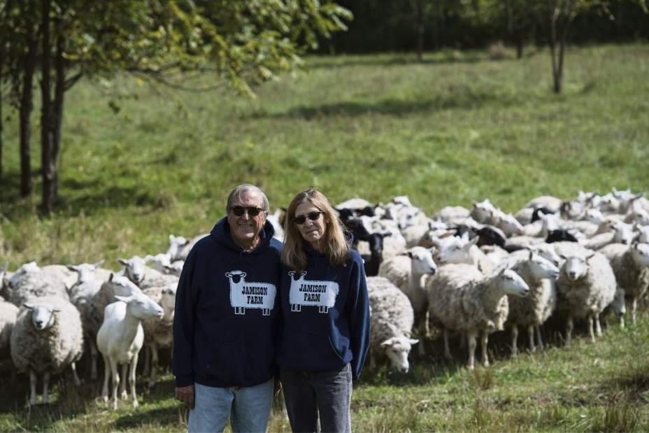 John and Sukey Jamison of Jamison Farm