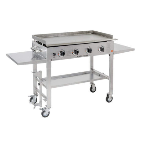 Blackstone 36-Inch Stainless Steel Outdoor Grill/Griddle Station