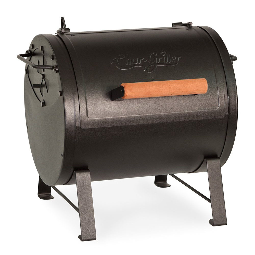Char-Griller Tabletop Charcoal Grill and Side Fire Box