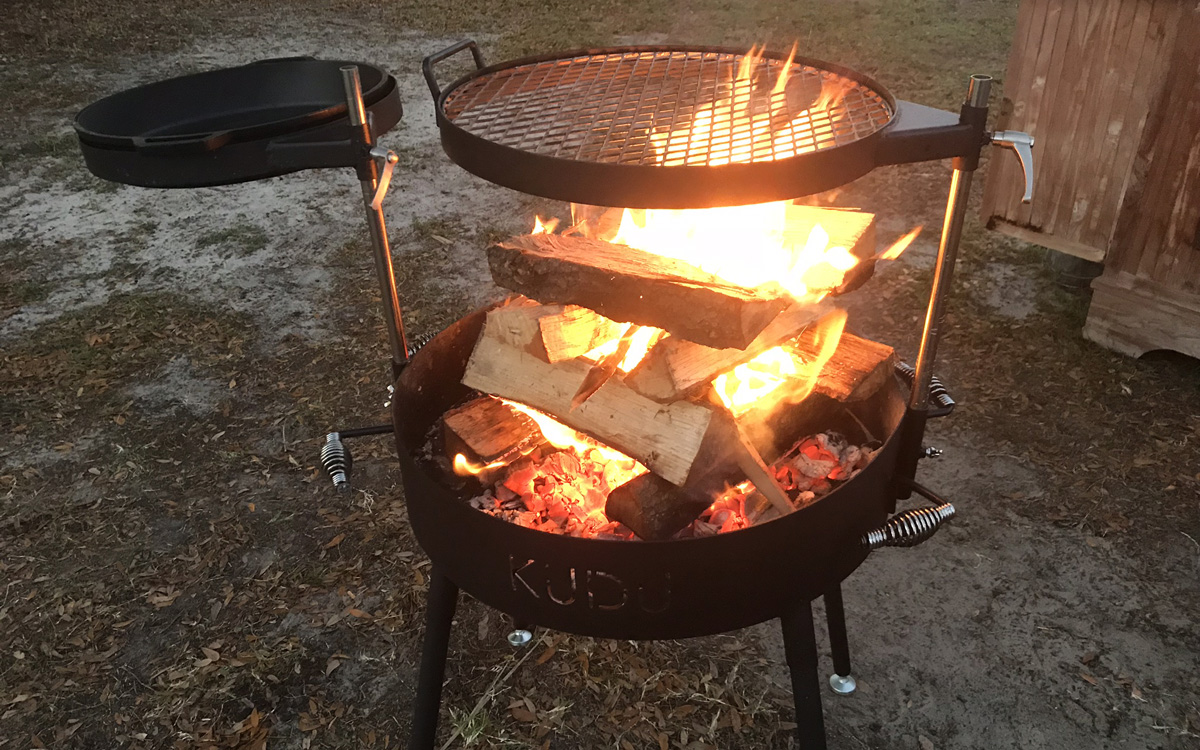 Fire Wrangler of Project Fire - Wood Grill