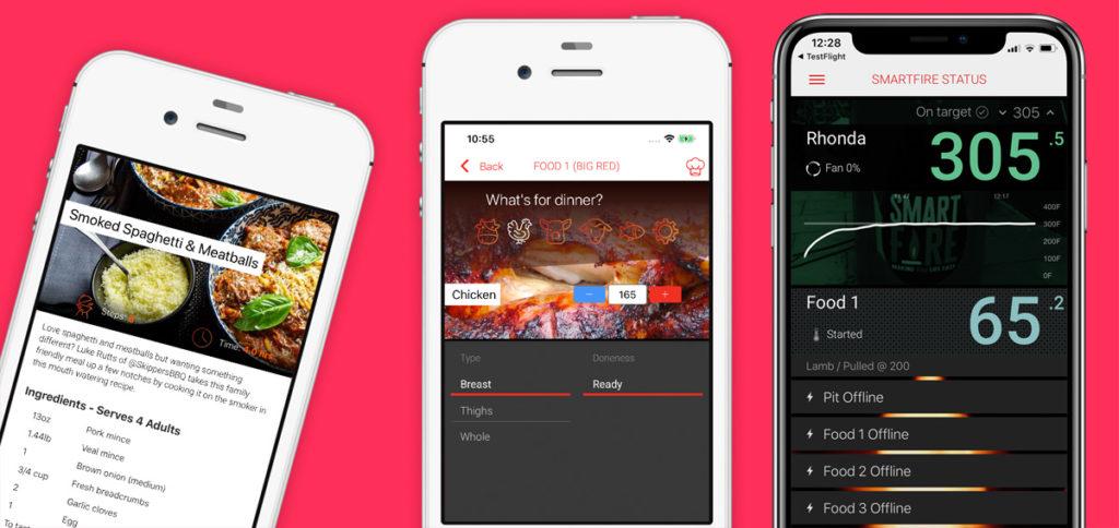 Smartfire App Screenshots
