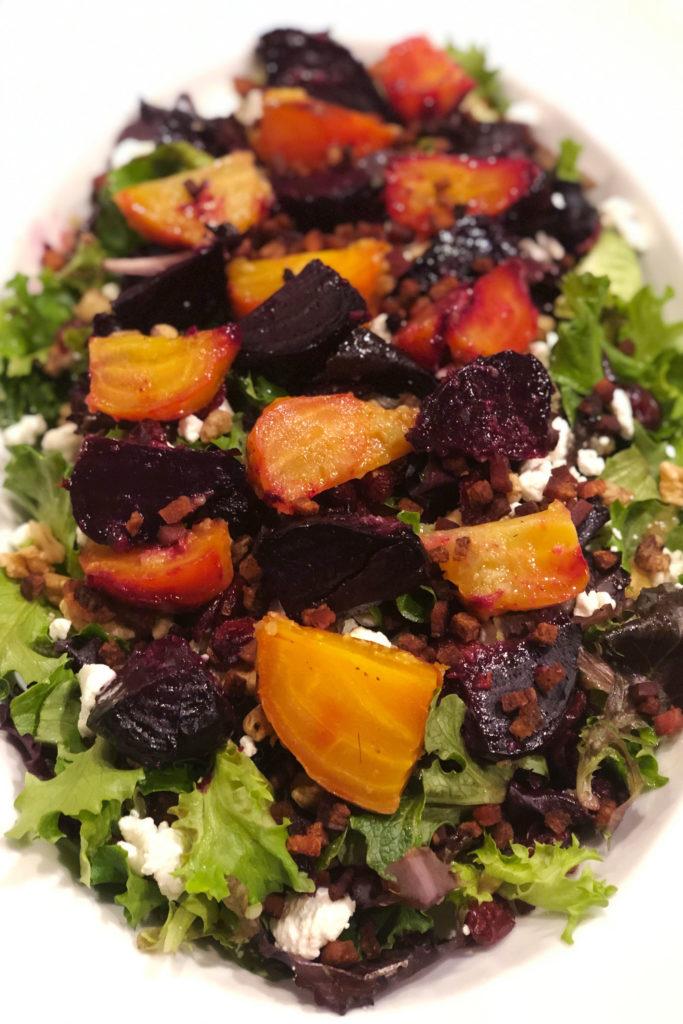 Steve Nestor's Smoke-Roasted Beet Salad