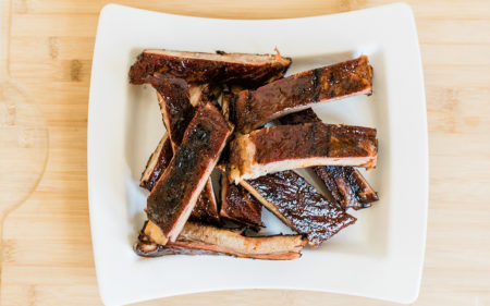 3-2-1 Barbecued Spare Ribs