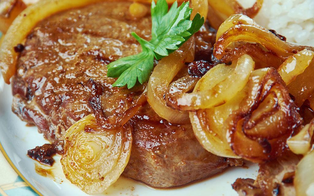 Miami Cuban-Style Steak with Mojo