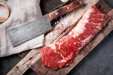 Skirt Steak Raw