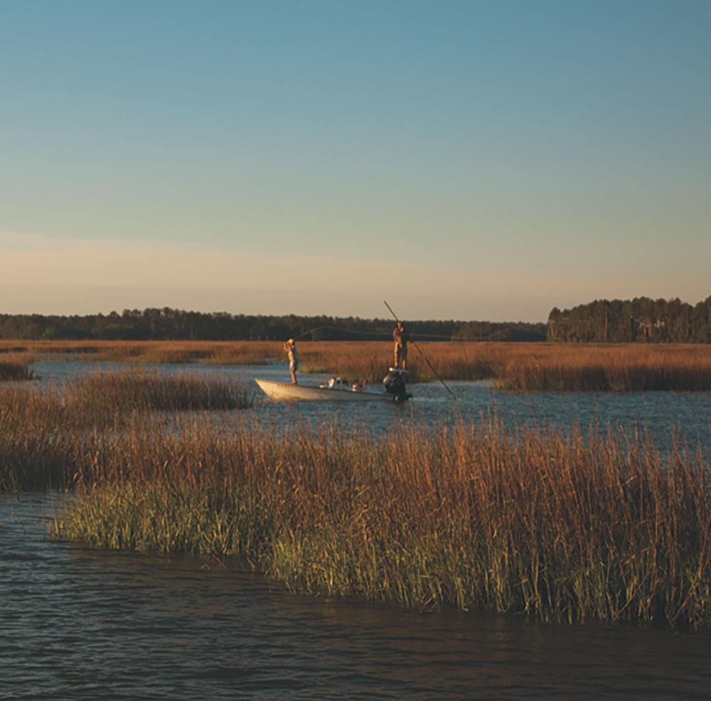 Palmetto Bluff - Fishing Saltwater