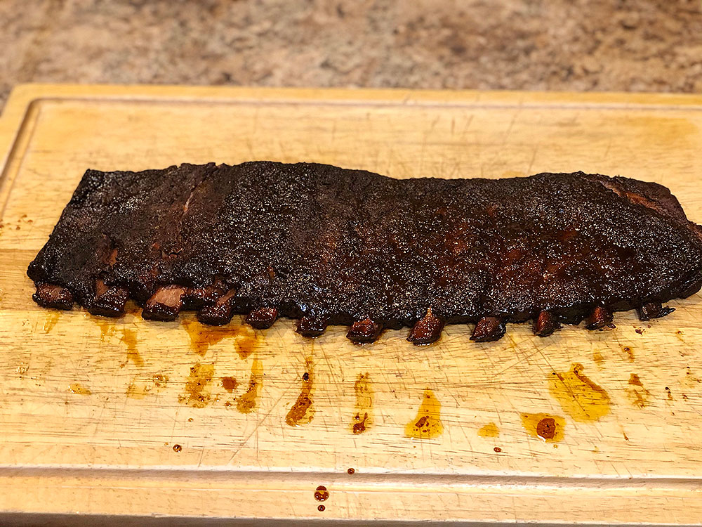 Ribs Finished